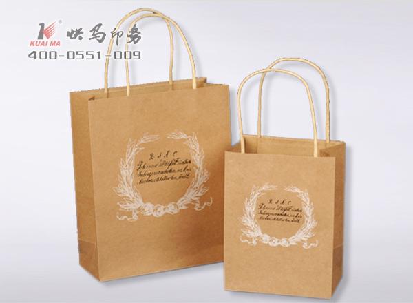 牛皮纸手提袋定做/通用牛皮纸袋印刷