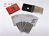 定制广告扑克